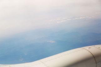 飛行機からの眺め6