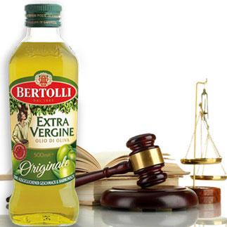 Klage gegen Bertolli: Betrug und Täuschung
