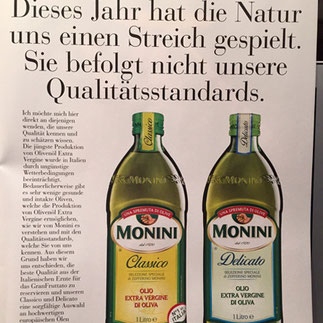 Zefferino Monini - Monini Olivenöl - Master of Olive Oil Silvan Brun