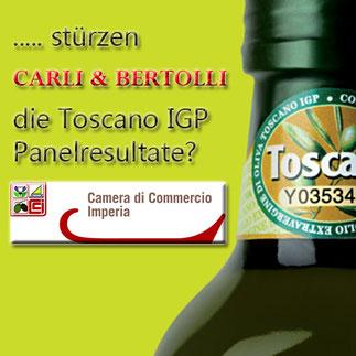 Ungenügende Olivenöle durchgewunken
