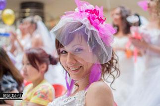 Парад невест в городе Новокузнецк в 2014г.