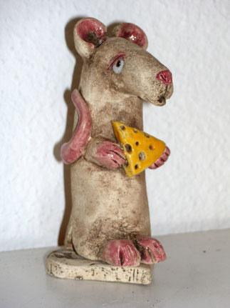 Räuchermännchen, Räuchermaus, Keramik, Ton, Keramiktier