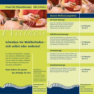 Preisliste Wellness