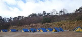 野外訓練 キャンプ