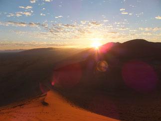Dune 45の朝陽