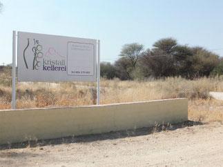 ナミビアに3軒しかないワイナリーのひとつ