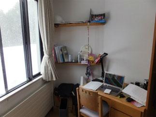 訓練所の部屋 個室