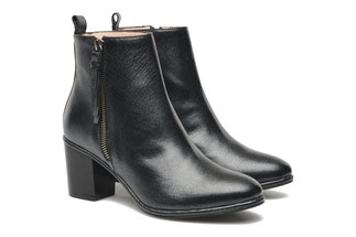 CLASSIC SHIRLEY BOOT Black Leather