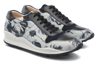 OC SNEAKERS BLACK MULTIPRINTED Calf Leather