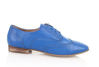 BROGUE Bleu Leather