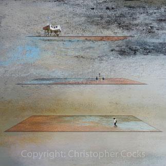 parallelism, 2018, 2/5, 60x60cm, Alu Dibond