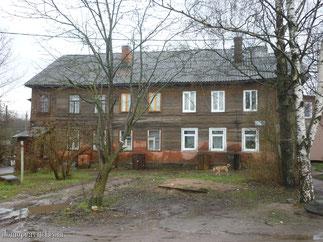 Дом на Новопролетарской 52 А в Гатчине