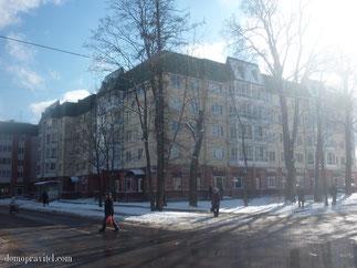 Дом на Урицкого 19 в Гатчине