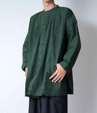 ヂェン先生の日常着 開襟シャツ 厚地 通販 オンラインショップ