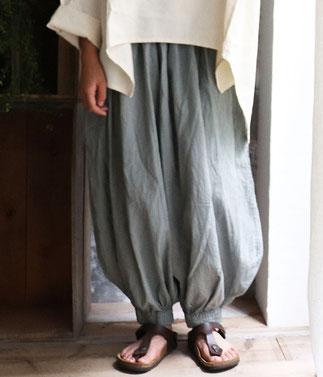 ヂェン先生の日常着 バルーンパンツレギュラー