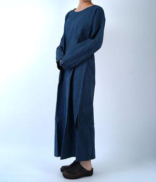 ヂェン先生の日常着 長袖ワンピース