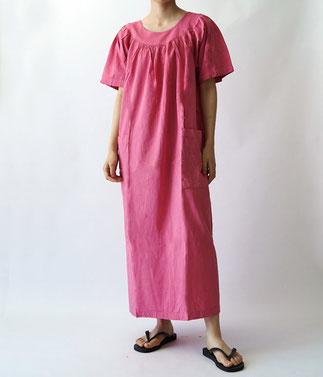 ヂェン先生の日常着 スモックワンピース半袖