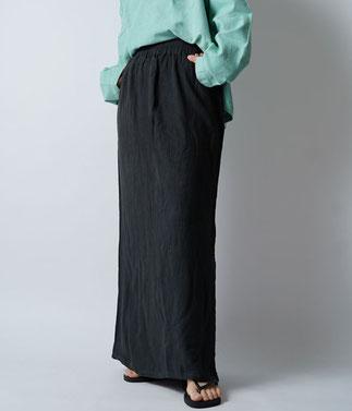 ヂェン先生の日常着 シンプルスカート 厚地