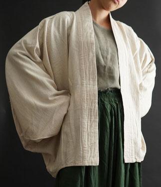 ヂェン先生の日常着 へちまえりロングカーディガン