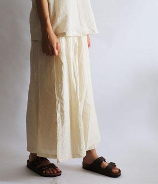 ヂェン先生の日常着 スカートパンツ