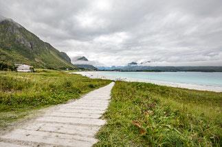 Strand von Ramberg, Lofoten