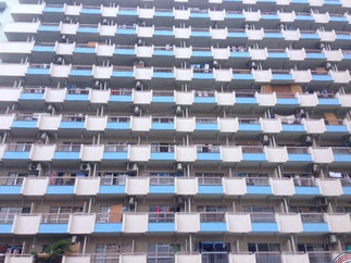 ココキタは豊島5丁目団地内にあります。