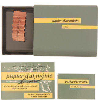 Flight 001 Papier D'amenie Room Deodorizer Kit