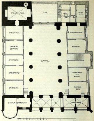 Bild 1: Grundriß Erdgeschoß
