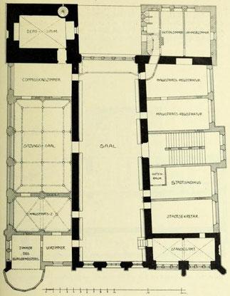 Bild 2: Grundriß  erster Stock