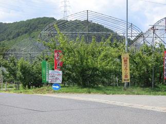 上山フルーツ園秋のアクセス