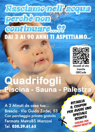 Con Volantinaggio a Brescia