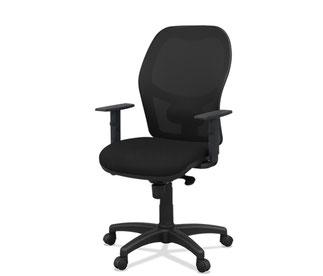 giratoria de oficina moderna ergonomica malla Q5 actuestil lacadira.com