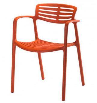 silla sillon  moderna de terraza comedor toledo apilable lacadira.com