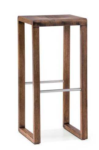 taburete moderno nordico de madera brera pedrali lacadira.com