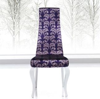 silla de comedor clasica madera tapizada modesto navarro lacadira.com