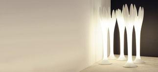 Eos lampara luz Bonaldo lacadira.com