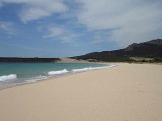 Beach in Tarifa - windsurfing paradise