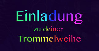 Deine Trommelweihe 2019 • Trommelworkshop • 19-21 Uhr • Trommelschule Yngo Gutmann, Leipzig