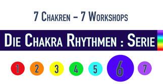 Trommelworkshop • Die Chakra Rhythmen : Serie • 6. Chakra • 14.02.2019 • Trommelschule Yngo Gutmann, Leipzig