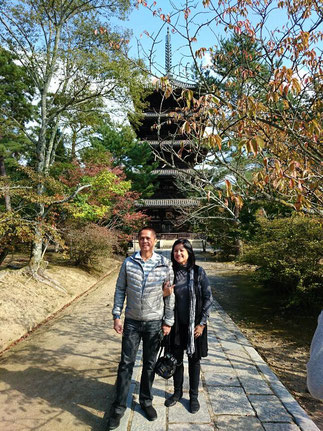 Five storied pagoda at Ninna-ji Temple