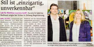 Ausstellungsbericht NÖN Horn, Martin Kalchhauser (Woche 39)