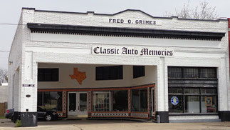 Historic Grimes Garage Now Texas Through Time Museum