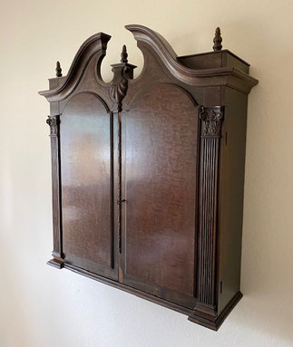 Wall Cabinet with Glass Shelves $175.00