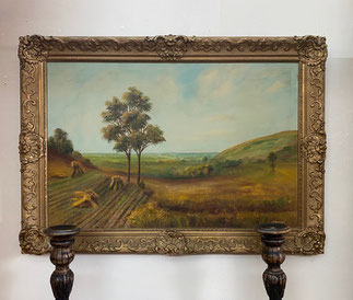 Large Painting Ornate Frame  $195.00