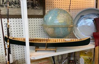 1961 Globe $85.00 Handmade Wooden Canoe $125.00