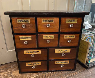 Antique Apothecary Cabinet $795.00