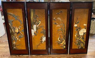 Set of Four Panels $195.00