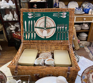 Picnic Basket $195.00 SOLD