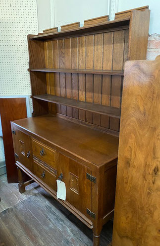 Oak Welsh Dresser with Two-Drawer Two-Door Storage $649.00