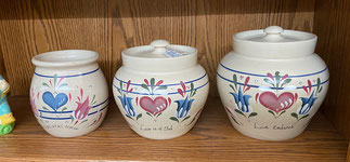 Set of Three Ellis Pottery $19.95